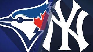 Bird, Happ help Yankees top Blue Jays, 10-2: 8/19/18