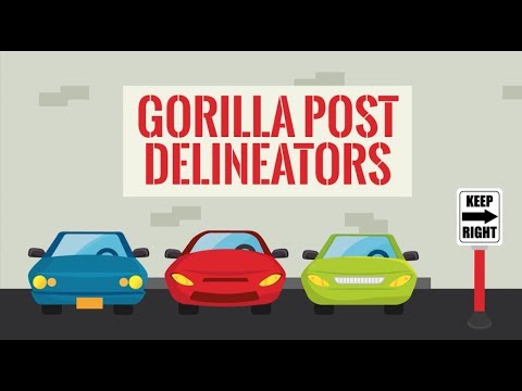 Gorilla Post Delineators