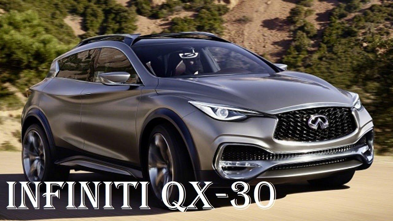 Infiniti qx30 specs