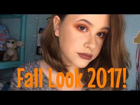 Fall Makeup Look ft Jaclyn Hill X Morphe Palette! | Hannah Bruley