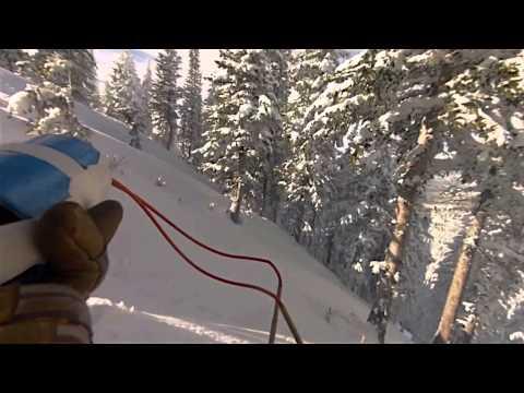 Steamboat Ski Resort Patrol Route - Avalanche Blasting - Avy Control for December 2012
