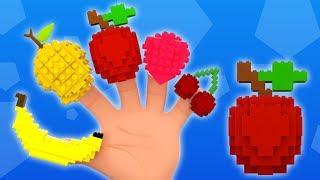 ผลไม้ครอบครัวลายนิ้วมือ | ผลไม้เพลงสำหรับเด็ก | เพลงห้านิ้ว | เพลงผลไม้ไทย | Fruits Finger Family