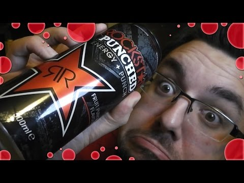 Rockstar Energy Punched Fruit Punch Review