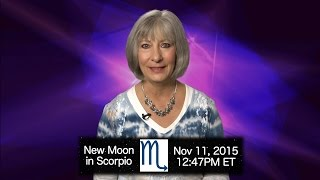 New Moon in Scorpio 2015