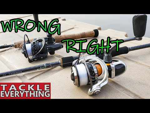 How To Spool A Spinning Reel...WITHOUT Line Twists