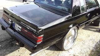 "'85 Grand National on 24"" DUB Bellagio's..."