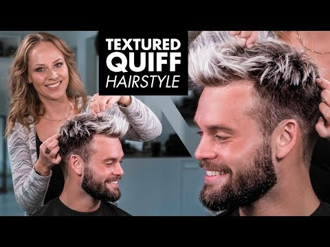 messy-textured-quiff-hairstyle---mens-hair-2019