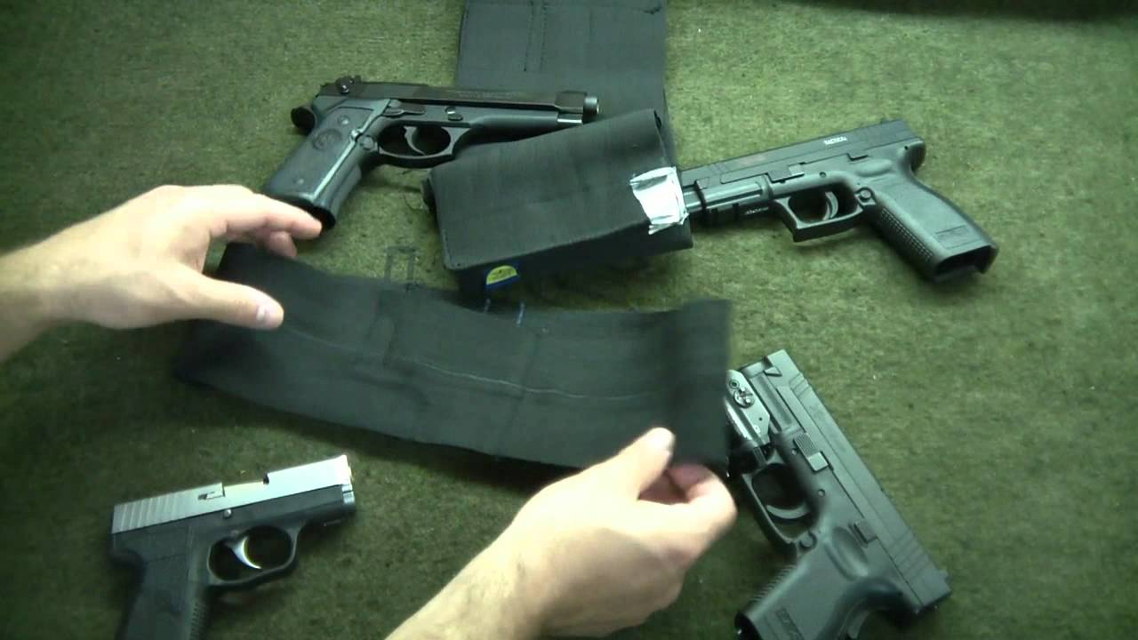 Diy How To Make A Concealed Carry Holster For 5 Youtube