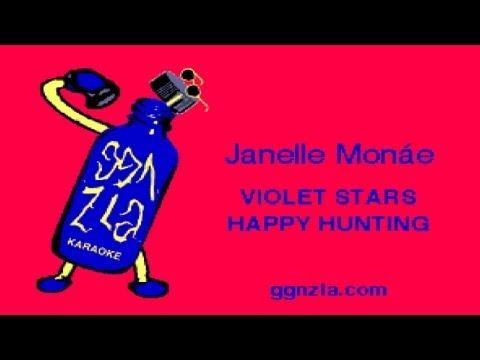 ggnzla KARAOKE 060, Janelle Monáe - VIOLET STARS HAPPY HUNTING