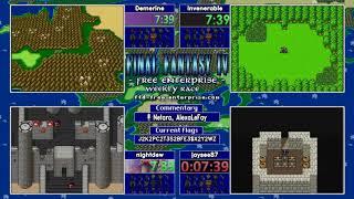Final Fantasy 4 Free Enterprise Randomizer Race