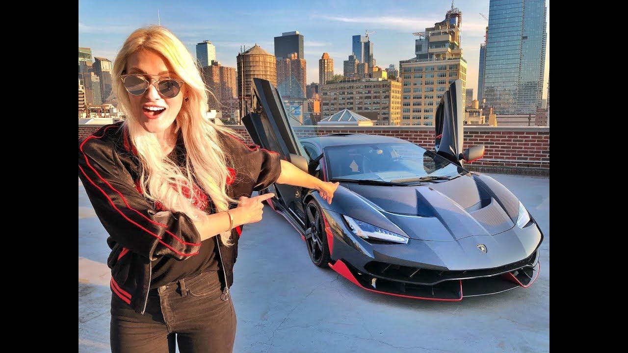 Driving the $4 million Lamborghini Centenario in NYC!
