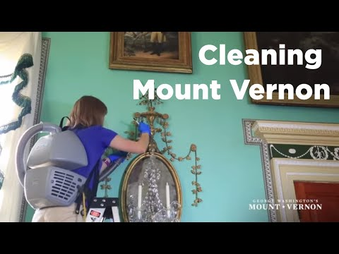 Mount Vernon Wakes Up - The Mansion