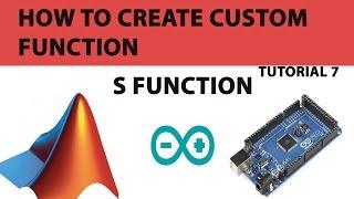 7. So erstellen S-Funktion in Matlab-simulink für Arduino
