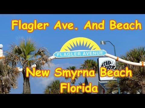 Flagler Ave  And Beach New Smyrna Beach Florida