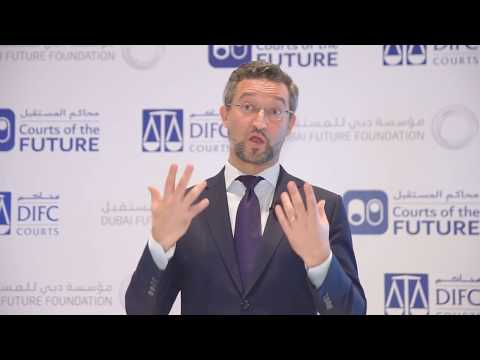 Dubai Wants to Lead the Way in Courts of the Future, Says Dr. Noah Raford
