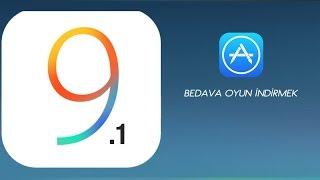 iOS 9.1 de App Store'daki Ücretli Uygulamaları Bedava İndirmek