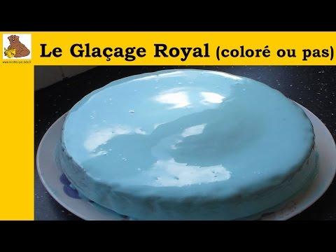 Recettes exclusivement gla age blanc color mirror glaz for Glacage miroir neutre