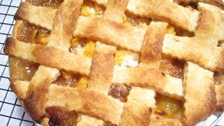 Peach Pie - How To Make Fresh Peach Pie Recipe