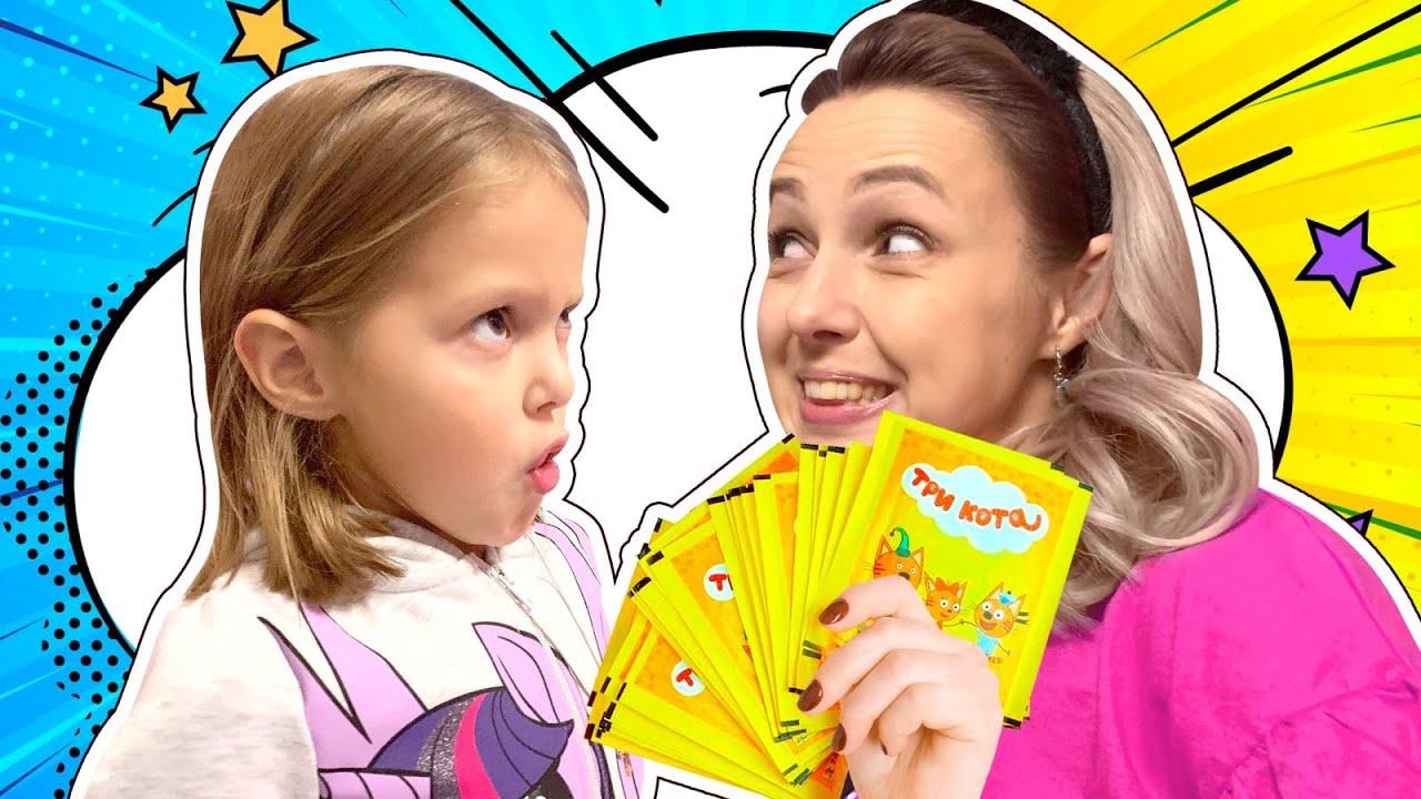 Мама теперь как Маленькая?  Что за чудо конфету она съела?