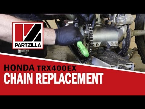ATV Chain Replacement | Honda 400EX | Partzilla.com