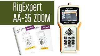 RigExpert AA-35 ZOOM Малогабаритний антенний аналізатор КВ діапазону. Огляд.