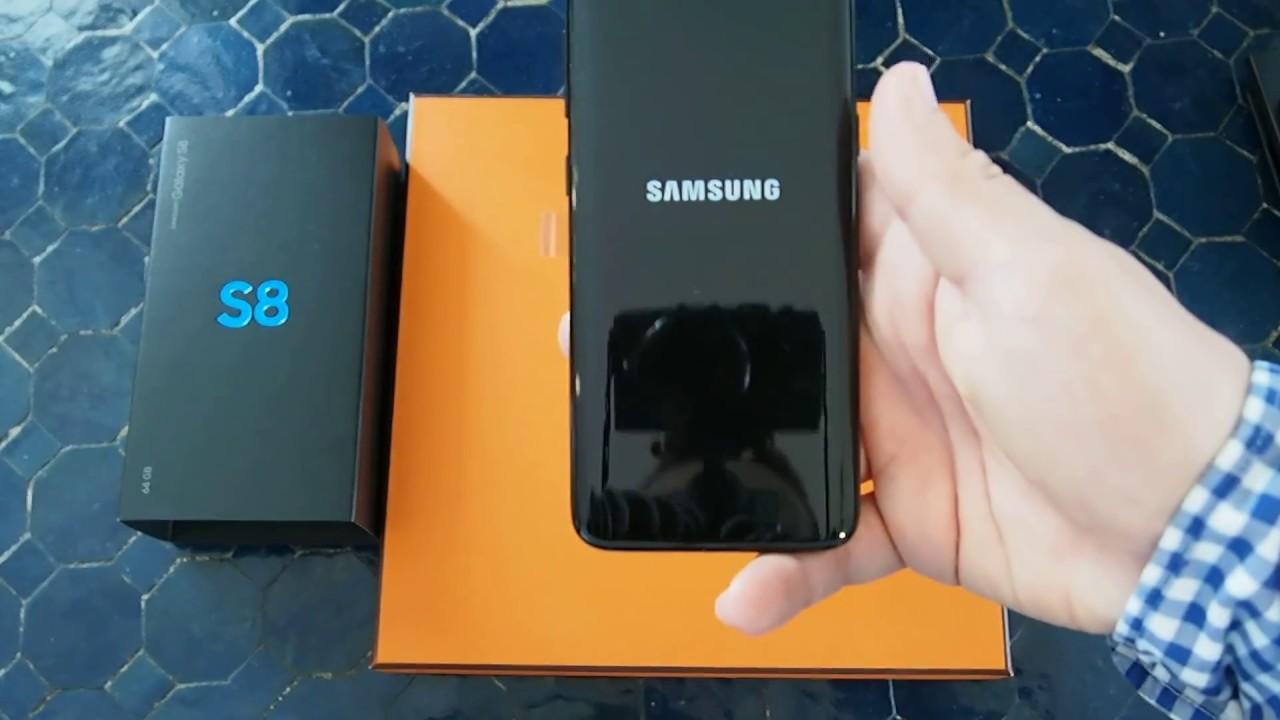 First boot up Samsung Galaxy S8 SM-G950F