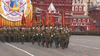 HD Russian Army Parade, Victory Day 2005 Парад Победы