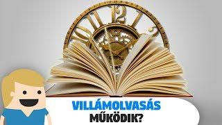 Egy könyv egy óra alatt? - Villámolvasás! - Működik?