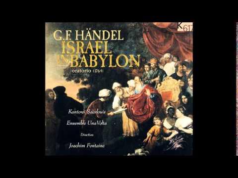G.F. Handel ISRAEL IN BABYLON, Oratorio