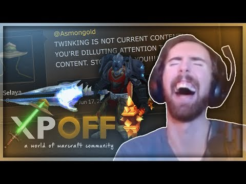 Asmongold Reacts to People Complaining in the XPOff Forums About Him Making a Level 39 Twink