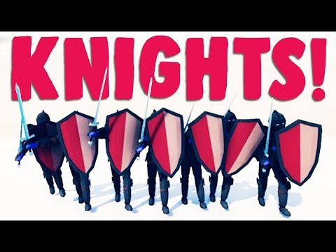 TABS - FULLY Armored KNIGHTS and VIEWER ARMIES! - Totally Accurate Battle Simulator Gameplay
