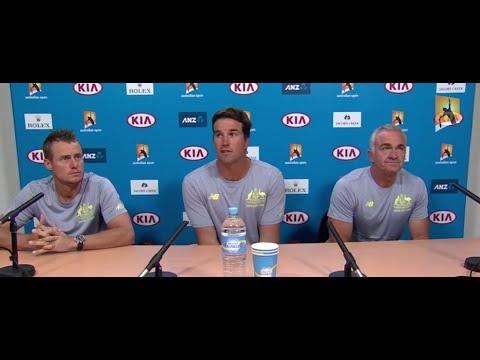 Davis Cup press conference - Australian Open 2015