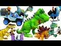 Full Set Dinosaur Jurasic World Toys PlaySkool Heroes - T-Rex, Velociraptor Toys and More!