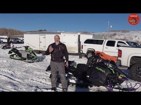 Snowmobiling In Utah With An Arctic Cat Alpha And M8000