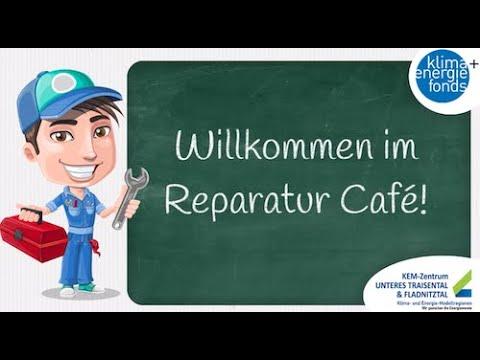 Reparatur Cafe in der KEM Unteres Traisental - Teil 1
