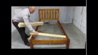 Slat Bed Instructions