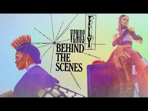 Grimes - Venus Fly (Behind The Scenes)