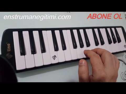 Melodika Öğreniyorum--Rockabye - Clean Bandit ft. Sean Paul & Anne-Marie