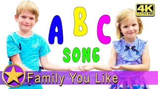 ABC Song - Learn English Alphabet for Children with FYL - Phonics Song for Kids - Nursery Rhymes -4K