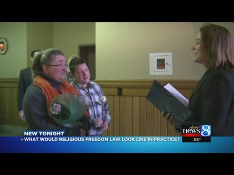 What would religious freedom law look like in practice?