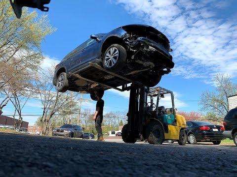 2019 Subaru Ascent или чего можно не заметить при покупке авто из США.