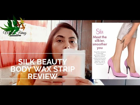 Oriflame Silk Beauty Hair Removal Wax Strips Review By Maria Faraz