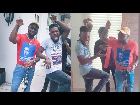 Davido, Broda Shaggi And Idowest Features In New Music [Behind The Scene]