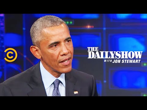 The Daily Show - Exclusive - Barack Obama Extended Interview