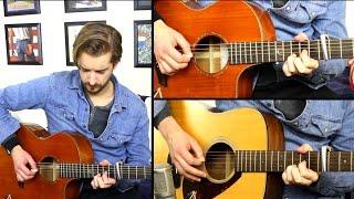 Hotel California INTRO - Layered Guitar Video