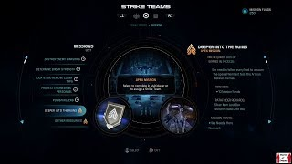 Mass Effect: Andromeda Multiplayer (PS4) - Deeper Into the Ruins (Apex Mission)
