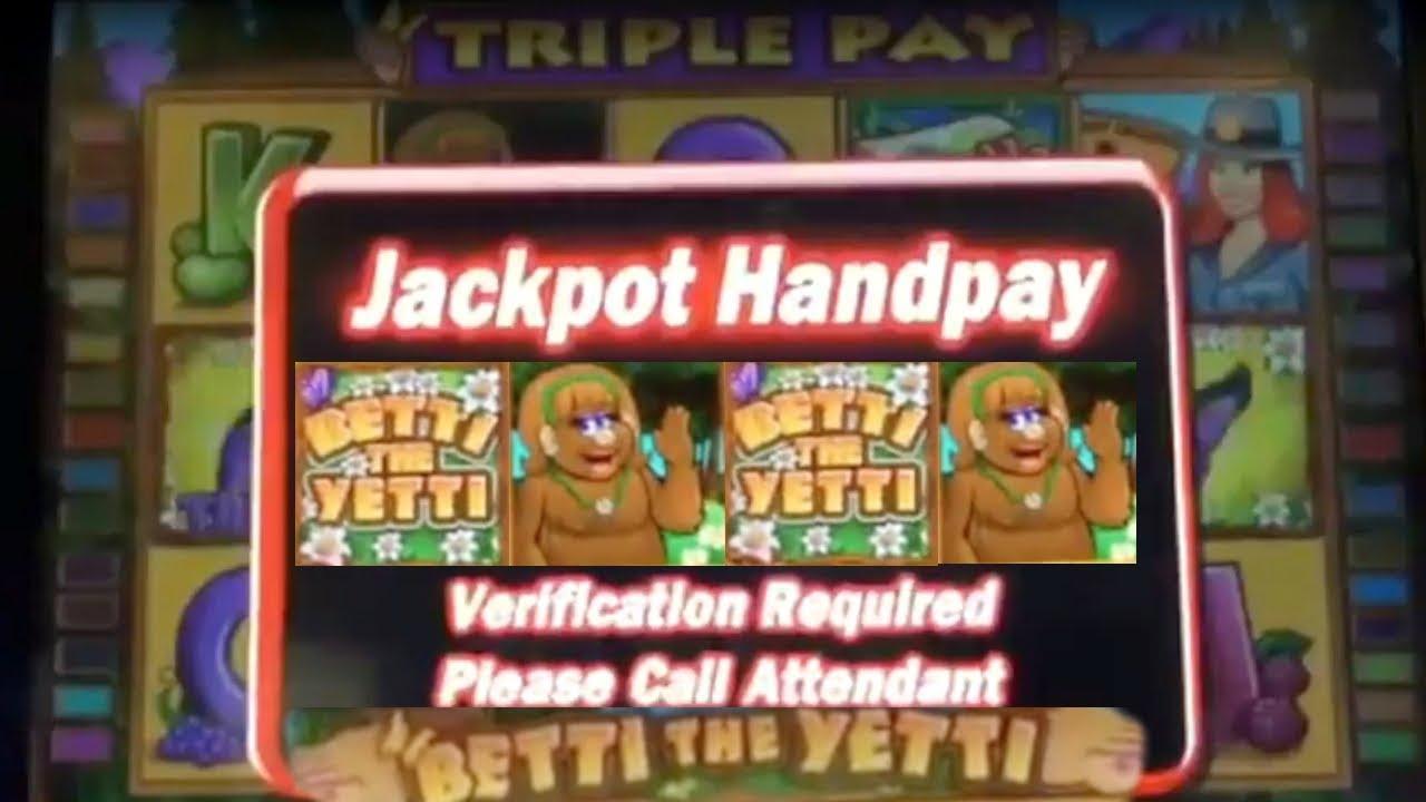 Betti the yetti slot machine free download casino nimes traiteur