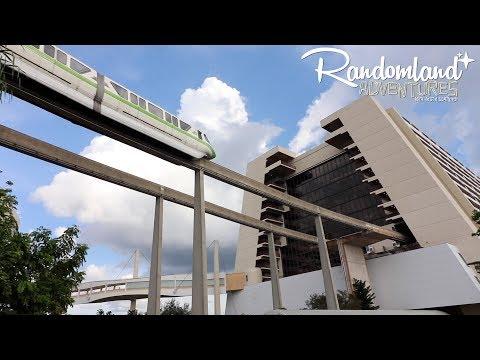 The Monorail Loop - Exploring Walt Disney World