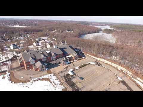 Haverhill, MA. Downtown, Local Landmarks VIA P4 Drone