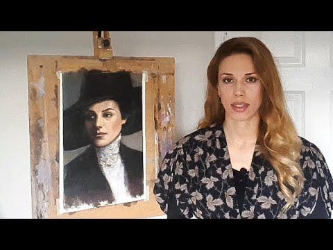 Флорентийская Академия Искусств. Техника портрета. Классический реализм. Секреты художника.